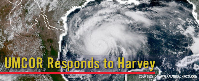 UMCOR Responds to Harvey